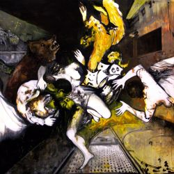Untitled, 200 x 300 cm, oil on canvas, 2011
