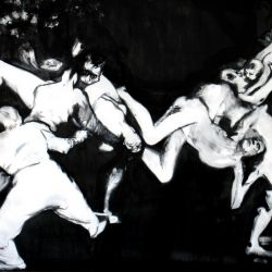 Untitled, 200 x 300cm, oil on canvas, 2010