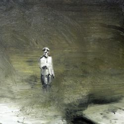 Untitled, 35 x 40 cm, oil on paper, 2012